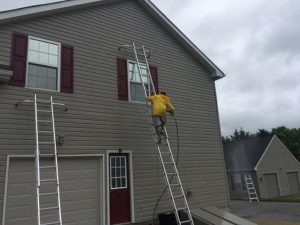 Exterior home painting in Delaware