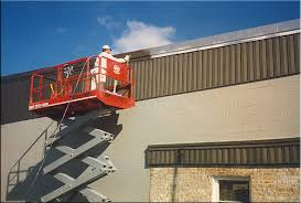 Commercial exterior painting jobs